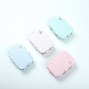 Mini Toothbrush UV Sanitizer Box Case,Rechargeable Portable Small Travel UVC LED Disinfection Function,Pocket Sterilization