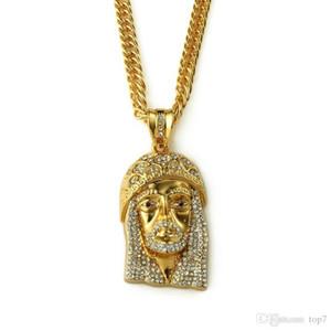 2018 I Hip Hop Bling Fashion Necklace Jesus Piece Pendant Necklace Wholesale Jewelry Supplier For Men Women Gift