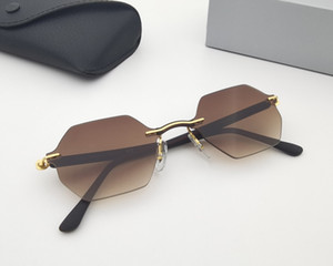 Fashion Square-shaped Clear Candy Colored One-piece Sunglasses Shades Glasses Gradient Transparent Frameless Eyewear Women Accessory Gifts