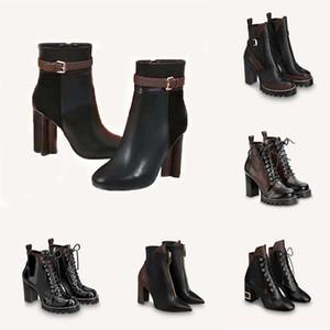 Klasikler Nefis Deri Kadın Çizmeler Yüksek Topuklu Ayak Bileği Çizmeler Ve Hakiki Açık Havada Moda Çizmeler Martin Kovboy Patik HM011 L01