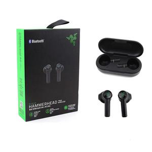 Auricolari wireless auricolari wireless Razer Hammerhead Bluetooth Auricolari di alta qualità Auricolare di gioco del suono TWS Sport Bluetooth Auricolari Spascio