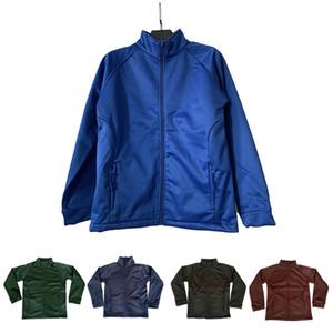 Camicia da cerniera per bambini e giacche da donna per bambini per bambini