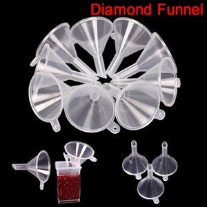 Diamond Painting Tools Accessories Funnel Bead Container Diamond Embroidery Environmental Protect Drill Collection Tool