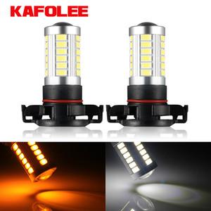 2pcs PSX24W H16 LED PSX24W PWY24W PSY24W 2504 5201 5301 S19W Fog Light Auto Bulb 3W LED Bulb Car Lamp 6500K White 3000K