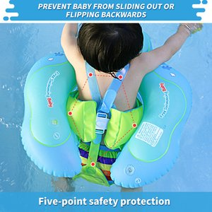 Swimbobo New Baby cartoon Inflatable swimsuit safety training floating pool float kids swimming ring kit Z1202