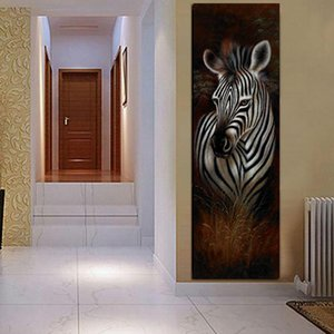 Large DIY Diamond Painting Black and White Zebra 5D Diamond Embroidery animal Cross Stitch Mosaic Rhinestones Home decor AS84