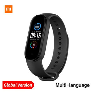 Global Xiaomi Mi Band 5 Smart Bracelet 4 Color Touch Screen Miband 5 Wristband Fitness Blood Oxygen Track Heart Rate Monitor
