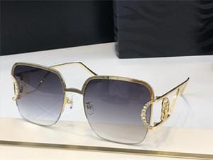 2030 Yeni High-end Güneş Gözlüğü Popüler Moda Bayanlar Özel Metal Yarım Çerçeve Tarzı Anti-Ultraviyole Gözlük Tam Çerçeve En Kaliteli Gönderme Kutusu
