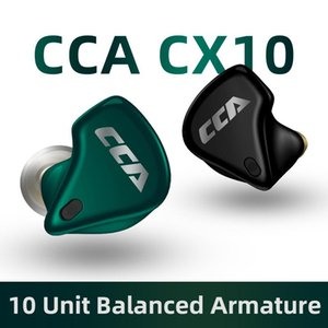 CCA CX10 2020 Iron Ring vero senza fili Bluetooth in-ear Binaural Noise Reduction correnti di sport Giochi d'ascolto di musica Headset