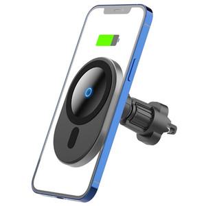 Titulaire de voiture magnétique en gros Chargeur sans fil Chargeur de téléphonie de voiture Chargeur de voiture magnétique