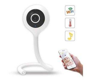 WM5 Mostrar temperatura y humedad HD Mini cámara IP Cámara inalámbrica WiFi Vigilancia de seguridad CCTV Cámara Monitor de bebé