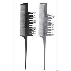Multi funzione Highlight Highlight Seleting Pettine per tessitura Sezione di Foiling Pettine Pestino Styling Hair Dyeing Combs per i capelli Coloring