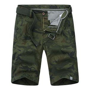 2020 Summer Camouflage Cargo Shorts Men's Baggy Shorts Mens Multi Pocket Zipper Cargo Trousers ABZ285