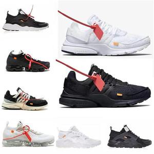 2021 Nuovo Presto V2 Ultra Br TP QS nero bianco x casual Designer scarpe Off Cushion Presto Huarache Donne da uomo Allenatore Scarpe da ginnastica 36 ~ 45