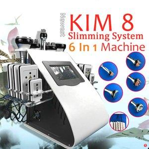 Professional 6 в 1 кавитация кавитация для похудения машины тело лепить вакуумный RF целлюлитное средство для удаления кожи подъемное оборудование косметическое оборудование
