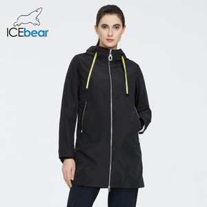 IceBear Womens Spring Windatrybreaker Quality Windreabreaker moda mujer chaqueta mujer marca ropa GWF7I 201124
