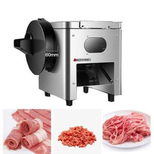 Kommerzielle Desktop Fleisch Slicer Gemüse Slicer Dicing Machine Haushaltsfleisch Zerkleinertes Schweinefleisch Dicing Machine 850W1