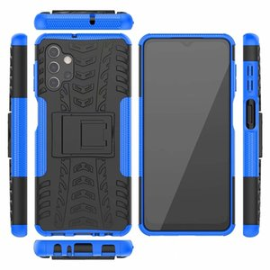 Case For Samsung Xiaomi 10 10T Pro Lite Dazzle Kickstand For LG Q92 K92 K52 5G ShockProof Impact Hybrid Armor Tire Hard PC Men Holder Cover