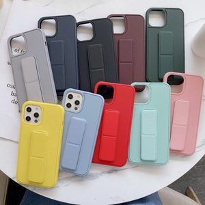 New Design Magnetic Holder Case Visible Bracket Case For iPhone12 pro max 11 Pro Max X XR XS 6 6S 7 8 Plus