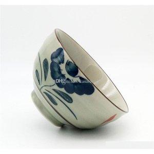Vintage japonês porcelana arroz bacias de vida asiático país lado projeto flor design 4,5 polegadas cerea jllqqww allguy