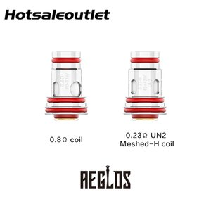 Uwell Aeglos Replacement Coil 0.8ohm Coil 0.23ohm UN2 Meshed-H Coil for Uwell Aeglos Pod Kit 100% Original