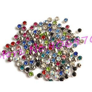 Tongue Ball Screw Gem Stone Crystal Spark Lip Stud Eyebrow Ring 316l Stainless Steel Piercing Accessory 1.6*6mm sqcTsM new_dhbest