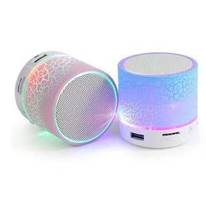 Bluetooth Speaker Wireless Speaker LED A9 Subwoofer Stereo HiFi Player Support sd card PC with Mic for IOS Android Phone