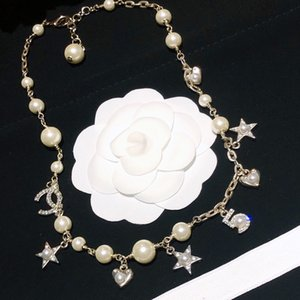2020 new luxury pearl necklace with high-grade fashion and joker color, good quality and free delivery