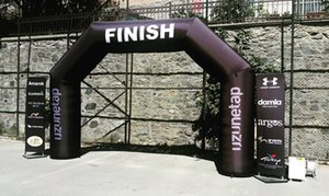 Wholesale Promotional Advertising Archway, Inflatable Square Arch for Marathon, Triathlon, Race, Event with Custom Print and Blower W6xH4m