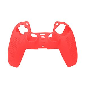For Ps5 Controller PS5 Playstation 5 Soft Silicone Case Cover Solid Color Controller Grip Cover Antislip With Spot Protective Case DHL