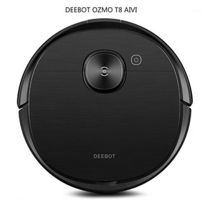 ECOVACS DEEBOT OZMO T8 AIVI Vacuum Cleaner Robot Vacuum Cleaner for Home Mopping & Sweeping & Suction Type1