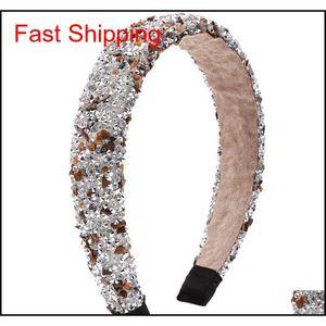 Retro Hair Hoop Natural Healing Crystal Stone Headband Sponge Leopard Print Woman Fashion Hair Band Acces jllNKh otsweet