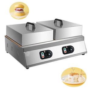 Çift Plaka Suffle Makinesi 110 V 220 V Japon Kabarık Suffle Gözleme Makinesi Soufflé Suffle Kek Pişirme Pan