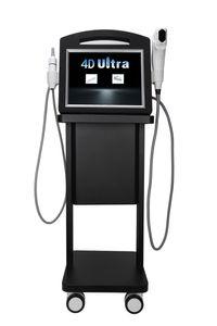 Mais novo 2 in1 4d hifu 12 linhas máquina V-Max radar Hifu face levantando a pele apertando o corpo anti-envelhecimento Equipamento de beleza