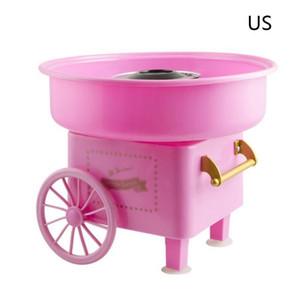 Nostalji Arabası Pamuk Şeker Makinesi Moda Mini Şeker Floss Maker Ev Kullanımı