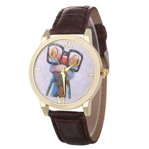 Funny Frog Pattern Classic Luxury Fashion Leather Strap Cheap Women Quartz Watch Girls Women Valentine Gifts 2018 Montre Sport