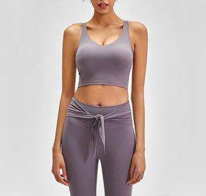 Beste Qualität Neue Stil Frauen Sport BH Atmungsaktives Yoga Fitness Sport Top zum Laufen CCCC-Gymnastik Normale Größe Solide Farbe BHs Kostenloser Versand
