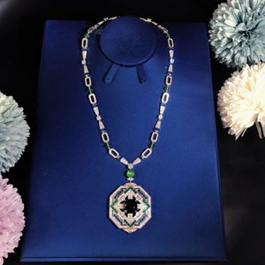 High-end Luxurious Ball Lady Necklace Party gathering Geometric figure Superior quality Free shipping Queen Fashion trend Necklace circula