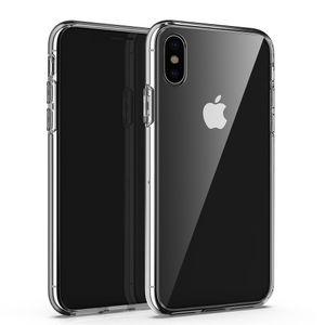 Apple iPhone 7 8 Plus X XR XS MAX 11 11PRO прозрачный чехол для мобильного телефона iPhone12 12PRO клей защита TPU