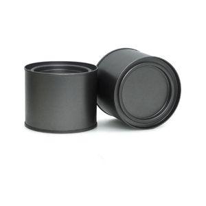 250 мл алюминиевой чайной чай могут банка банка CONT COMESTOR COMESTESTORS COMESTORS PORTABLE Уплотнение Металлический чай может онул круглую стволу