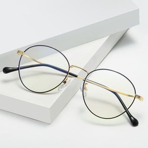 Frauen Männer Brille Anti Blue Light Blocking Mode Optische Klarobjekte Lesen Computer Gamiing UV400 Goggle1