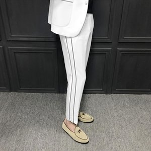 2021 Spring Quality Pants Men Brand New Perfume Masculino Casual Joggers Simple Trousers Men Dress Pants Mens Trousers Formal