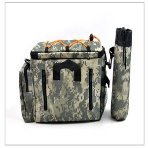 Multifunction Fishing Bag Outdoor Waist Bag Portable Lure Waist Pack Messenger Pole Package Fishing Tackle
