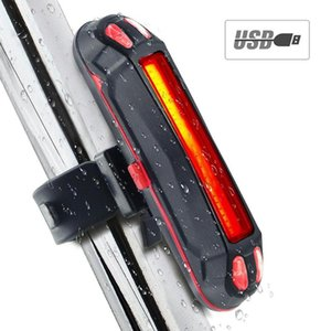 Cycling USB Rechargeable LED Taillights Bicycle Safety Warning Lamp Bike MTB Front Rear Tail Light Bicycle Light Accessories