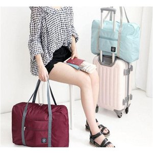 Multifunction Folding Luggage Storage Bags Large Capacity Waterproof Tote Bag Travel Clothes Pouch Foldable Handbag jllWSG xmhyard