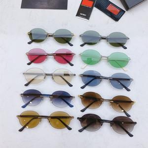 Fashion sport sunglasses for men 2020 unisex glasses men women sun glasses silver gold metal frame UV400 Eyewear lunettes with box 157g#
