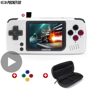 PocketGo Family Pocket Go Portable Handheld Retro Video Game Console Player Gaming Portatil Mini Arcade Videogame Hand Retrogame Y1123