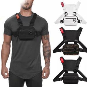 Oxford Tissu Coffre à poitrine Hip Hop Hook Multifonctionnel Harness Coffre Toron Pack Sacs TC21