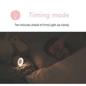 Children Digital Alarm Clock Sunrise Simulator With Led Night Light Lamp For Boys Girls Bedroom Decoration F sqcaWi