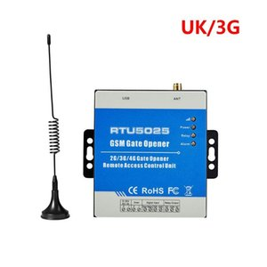 1Set GSM RTU5025 Wireless Opener Relay Switch Remote Control Access Control 2 3G R9JA